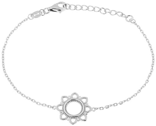 Bracelet TIPY en Argent 925/1000 Blanc