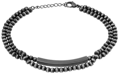Ce Bracelet ZEPHYR est en Acier Blanc  -