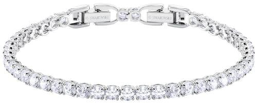 Ce Bracelet SWAROVSKI est en Métal et Cristal