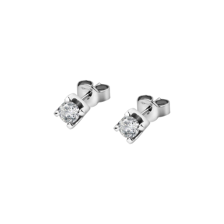 Boucles d'oreilles Femme avec Diamant Synthétique Blanc LIVE DIAMONDS - CLEOR