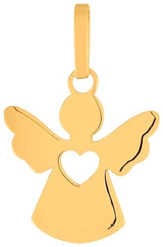 Cette Médaille CLEOR est en Or 375/1000 Jaune en forme d'Ange