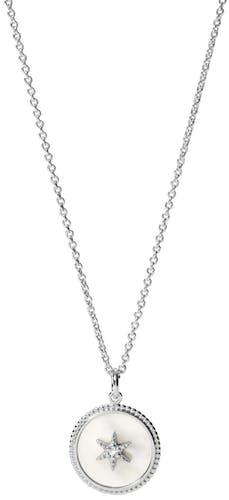 Collier FOSSIL en Argent 925/1000 Blanc