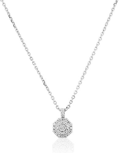Collier Femme avec Diamant Blanc - CLEOR