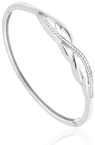 Ce Bracelet CLEOR est en Argent 925/1000 Blanc