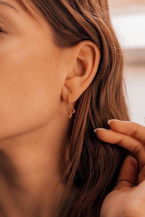 Boucles d'oreilles IMPALA en Plaqué Or