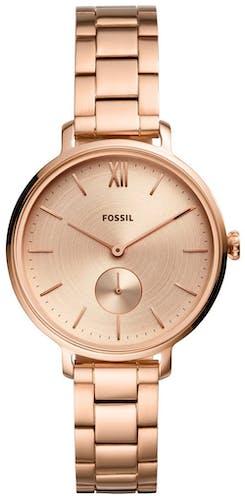 Cette montre FOSSIL se compose d'un boîtier Rond de 36 mm et d'un bracelet en Acier Rose