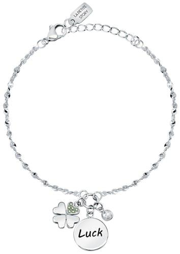 Bracelet LA PETITE STORY en Laiton Blanc