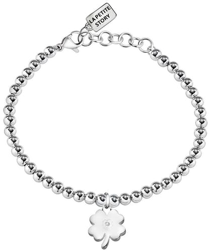 Bracelet LA PETITE STORY en Acier et Cristal