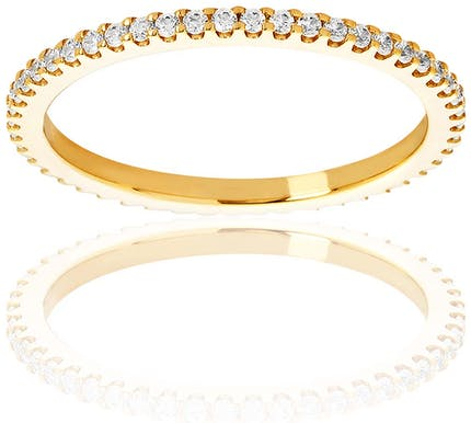 Alliance PROMESSE en Or 750/1000 Jaune et Diamant