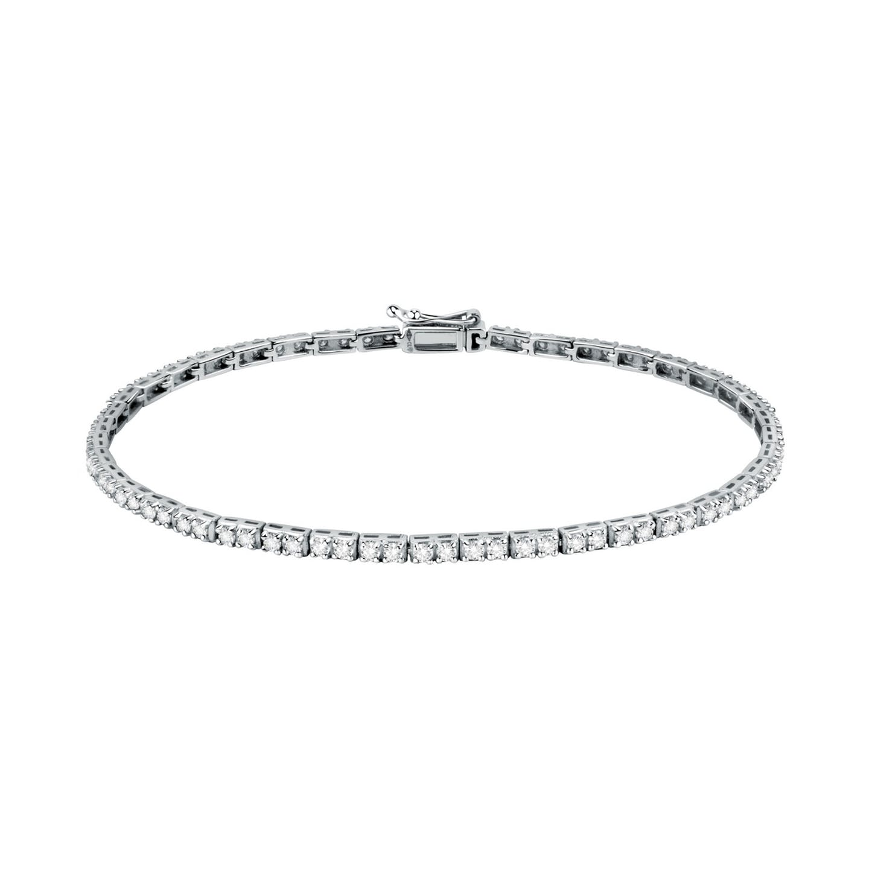 Bracelet Femme avec Diamant Synthétique Blanc LIVE DIAMONDS - CLEOR