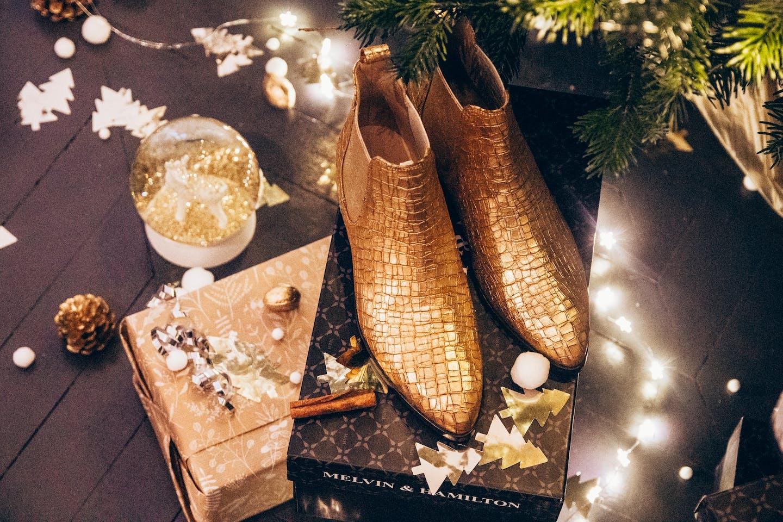 Chaussures femme fêtes réveillon noël Melvin & Hamilton