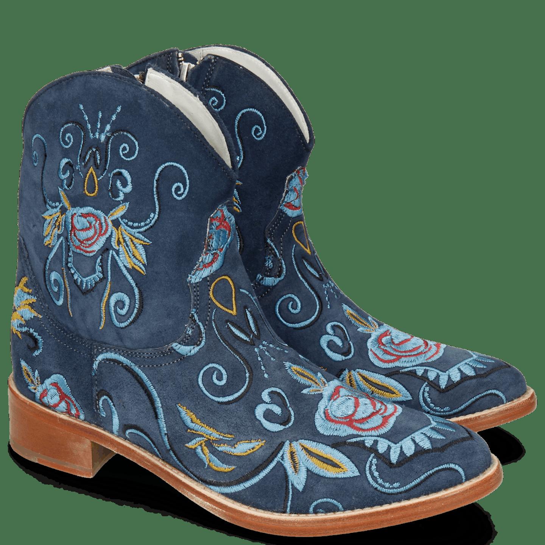 cowboylaars blauw