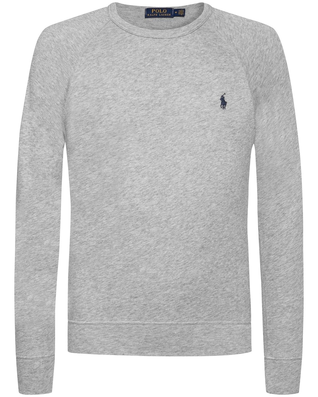 Polo Ralph Lauren, Sweatshirt, grau, Casual Look, Menswear 2018, Lodenfrey, Munich
