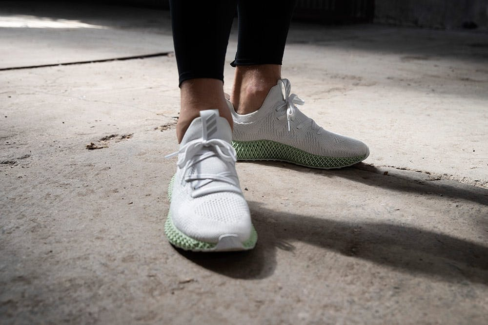 Cooler Look: der adidas Alphaedge 4D