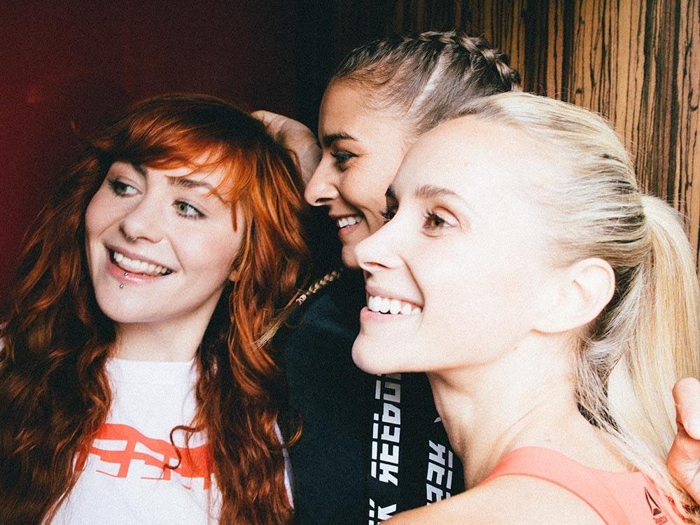 Paula, Elena und Caro für Reebok