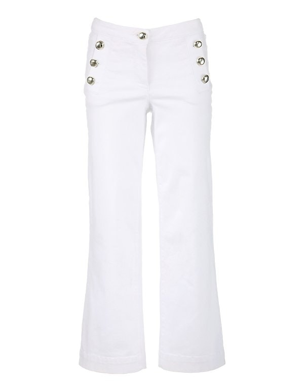 Weite 7/8-Jeans