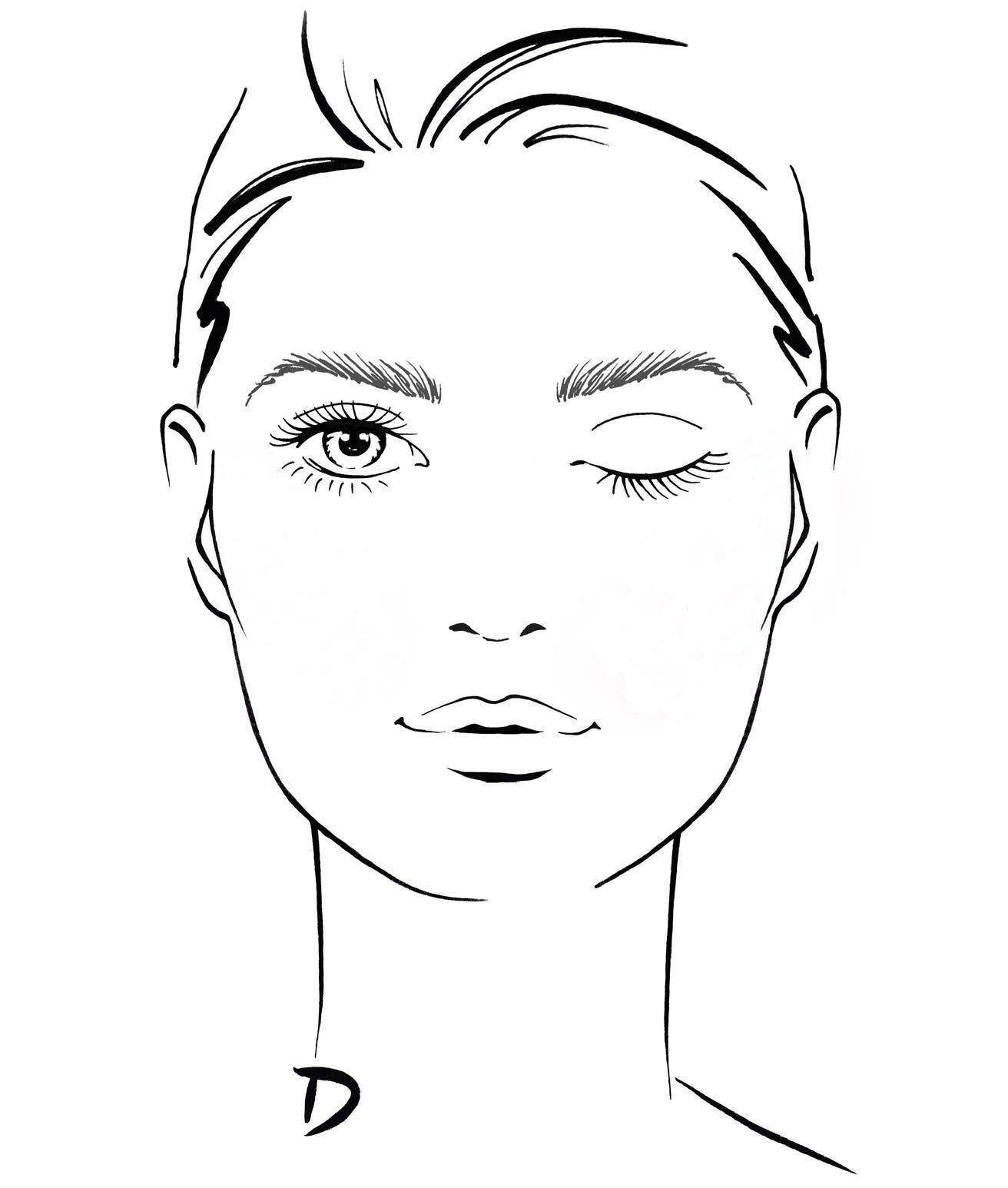Rundes Gesicht Abend Make Up Bei Douglasat