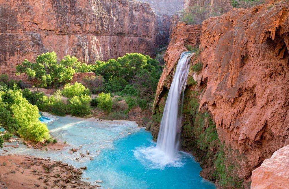 Huvasupi Falls Grand Canyon