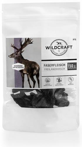 Wildcraft - Hundesnack - Faserfleisch Freilandhirsch (getreidefrei)