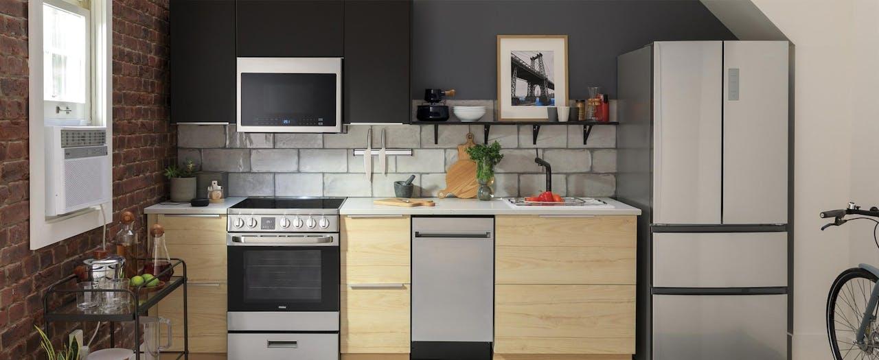 Haier small space urban kitchen.