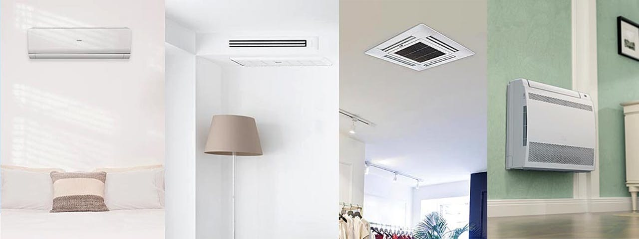 Photo of Haier Ductless indoor unit style four choices