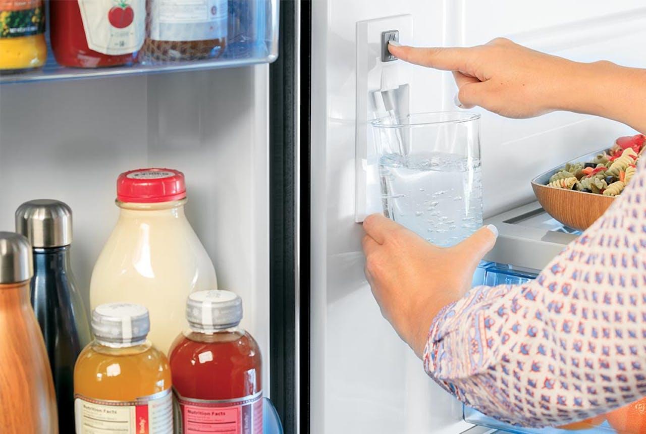 Haier refrigerator internal water dispenser