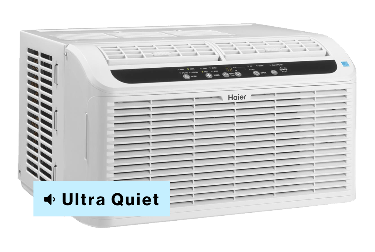 Haier window air conditioner ultra quiet serenity model.
