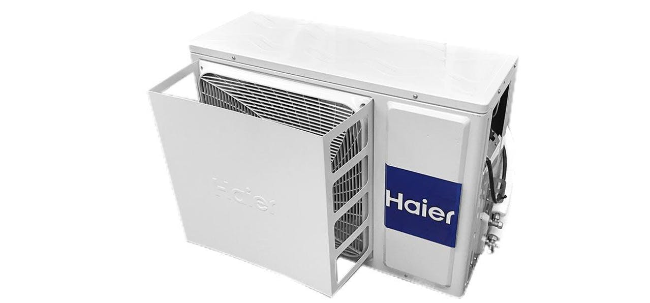 Photo of Haier Ductless Wind Baffle for Outdoor Units