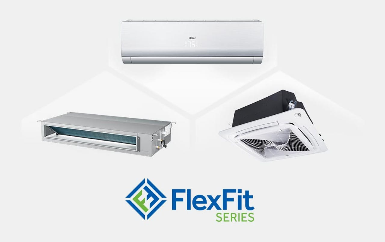 Photo of Haier Ductless Single Zone FlexFit Series Units