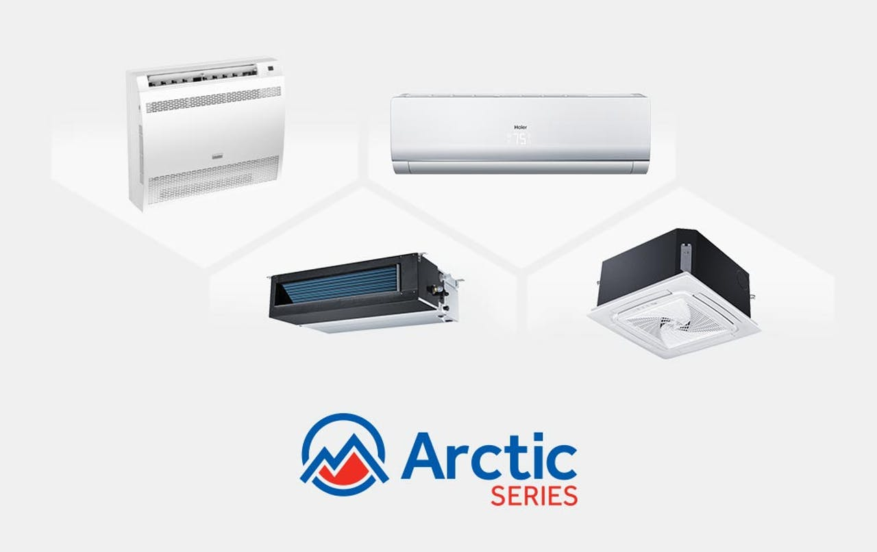 Photo of Haier Ductless Multi Zone Arctic Series AC Units