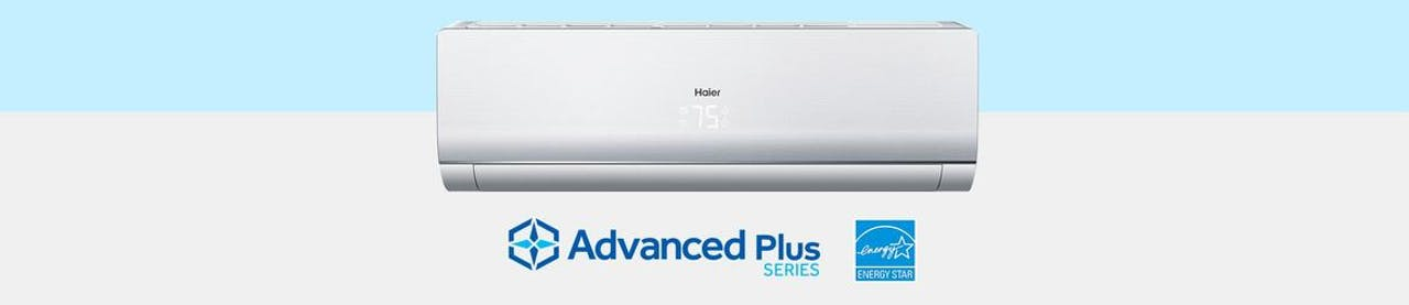 Photo of Haier Ductless Single Zone Advanced Plus Series Wall Mount AC Unit