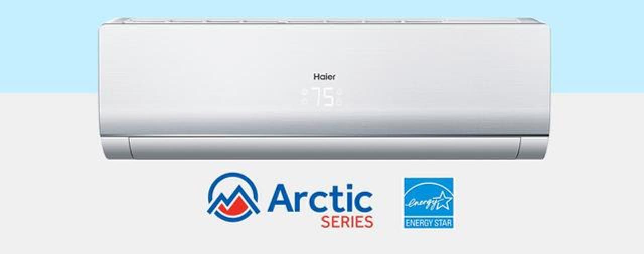 Photo of Haier Ductless Single Zone Arctic Series Wall Mount AC Unit