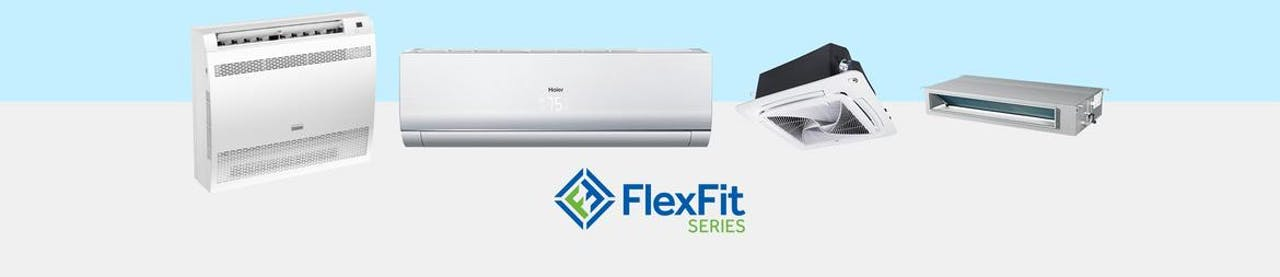 Photo of Haier Ductless FlexFit Series AC Units