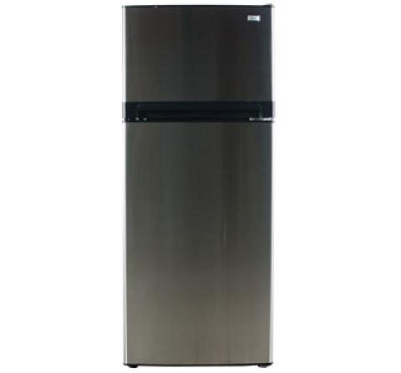 Product photo of a Haier top mount refrigerator currently being recalled