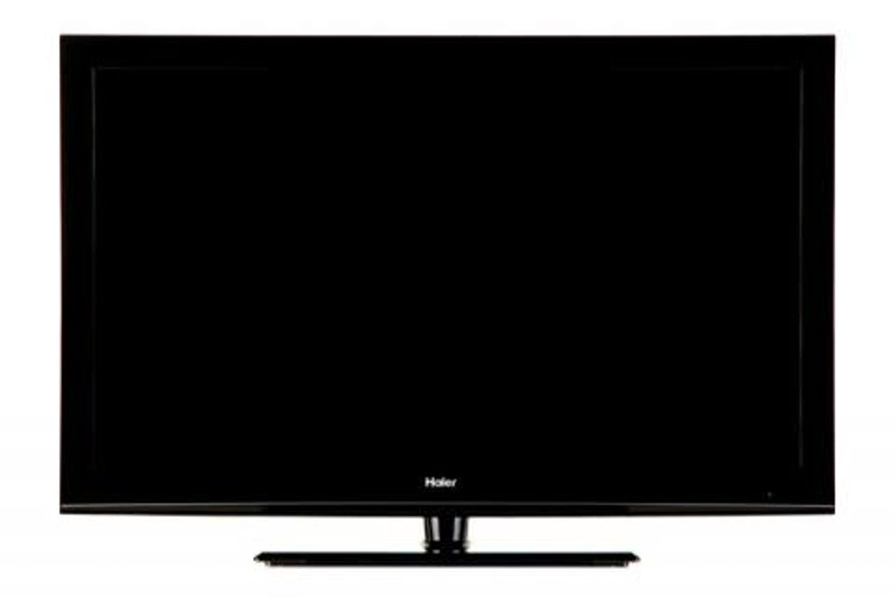 Product photo of a Haier LED TV currently being recalled