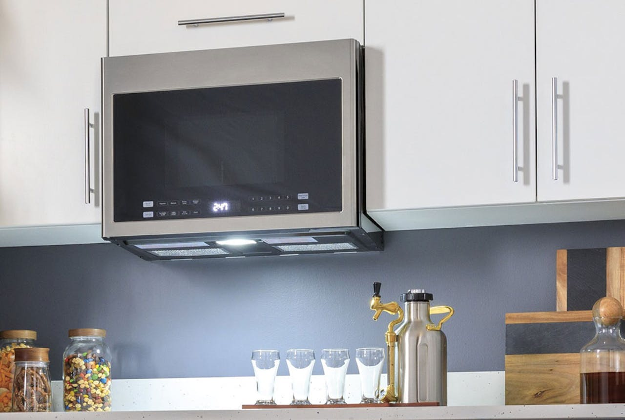 Haier over-the-range microwave oven