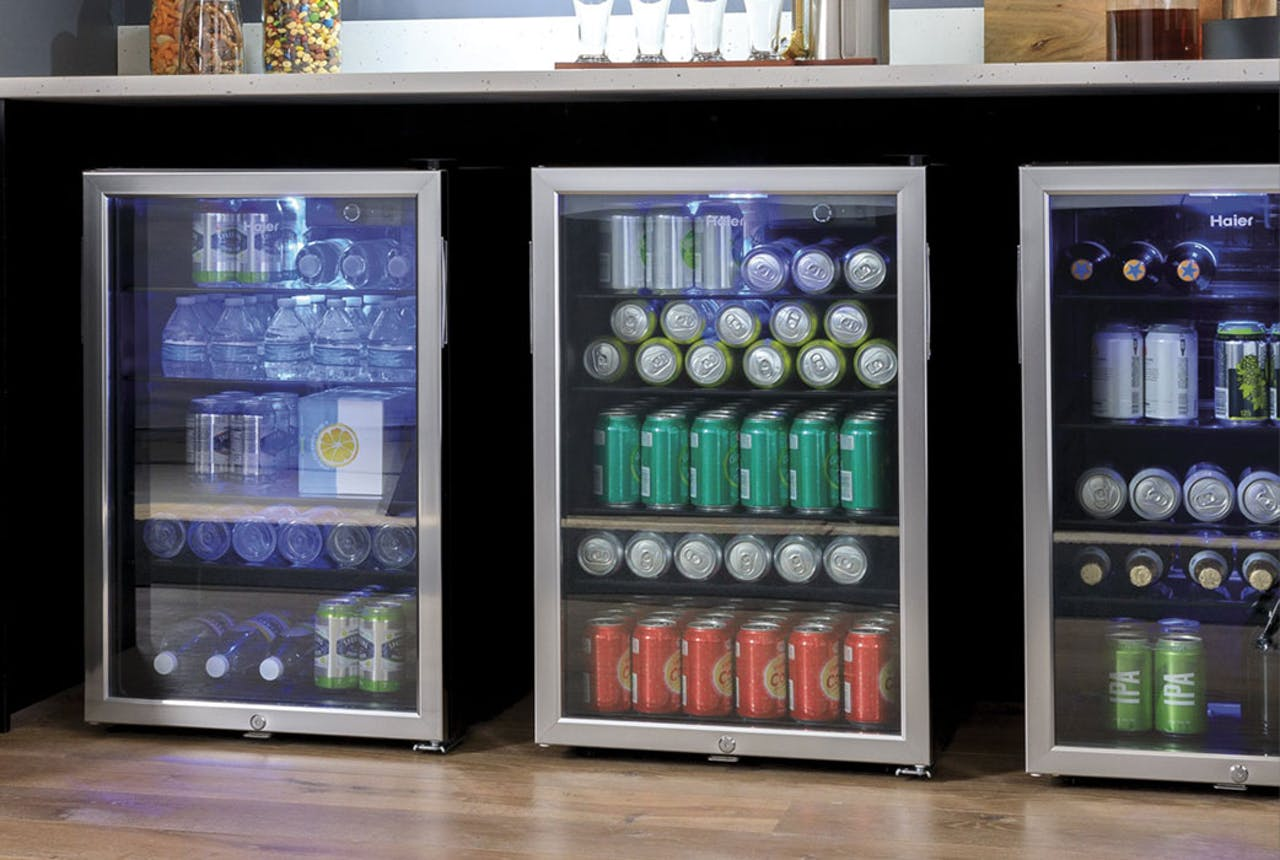 Haier 150 can beverage centers