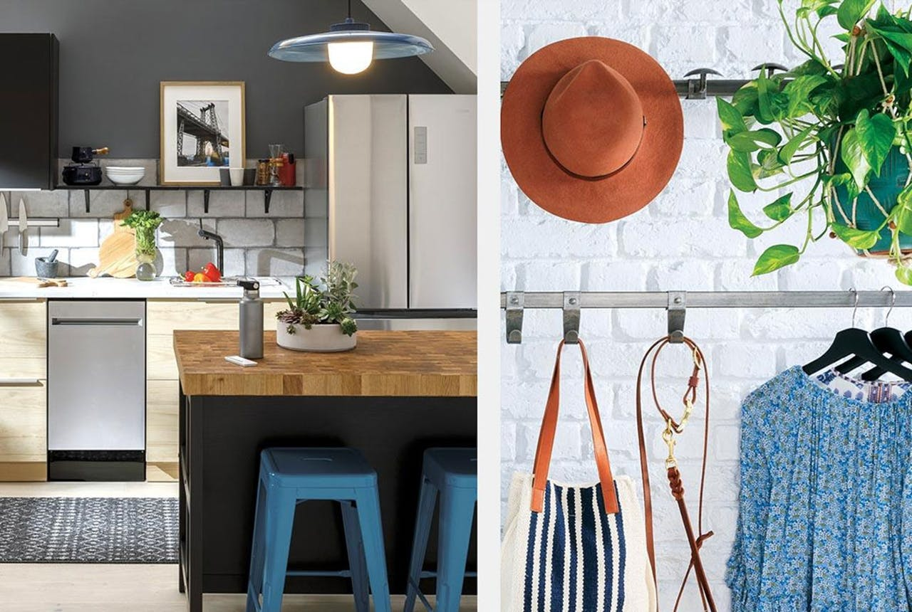 Image of Haier Kitchen and fashionable clothing