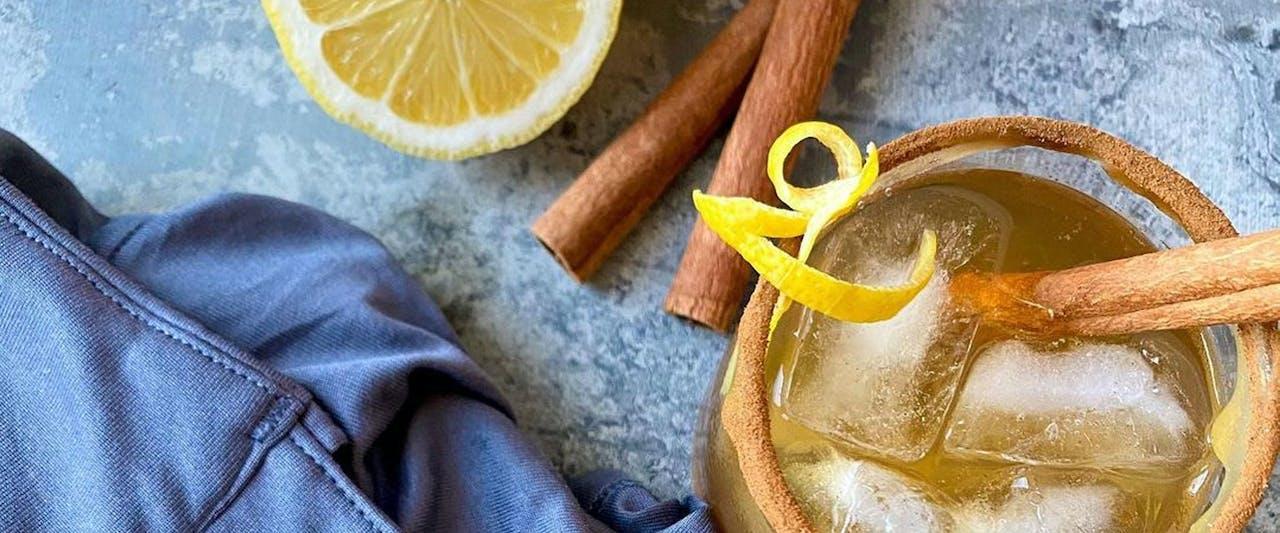 Bourbon Maple Leaf Cocktail