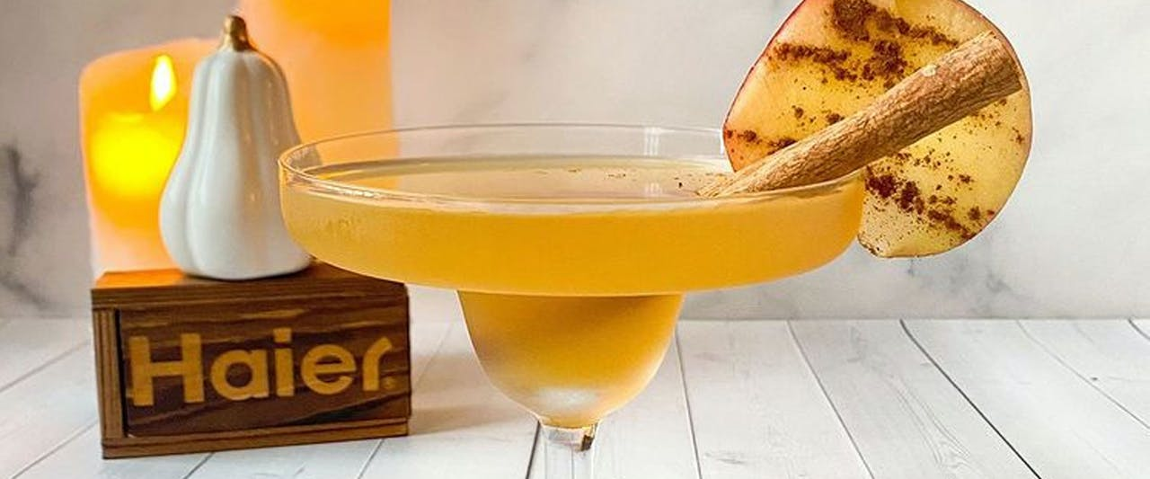 Apple Cider Mezcal Margarita