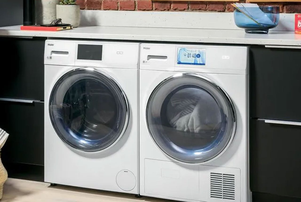 Haier washer and dryer