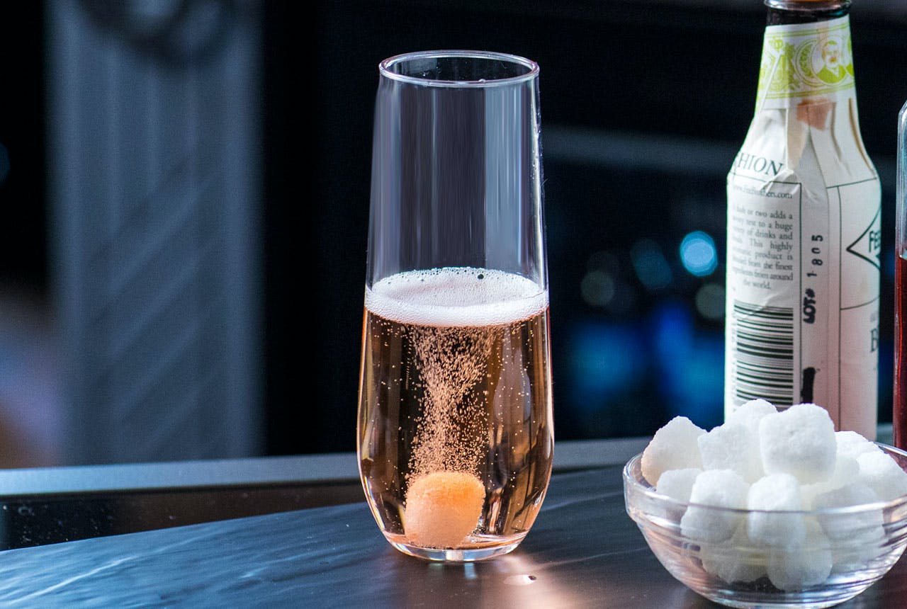 Goodnight Kiss drink recipe in a glass