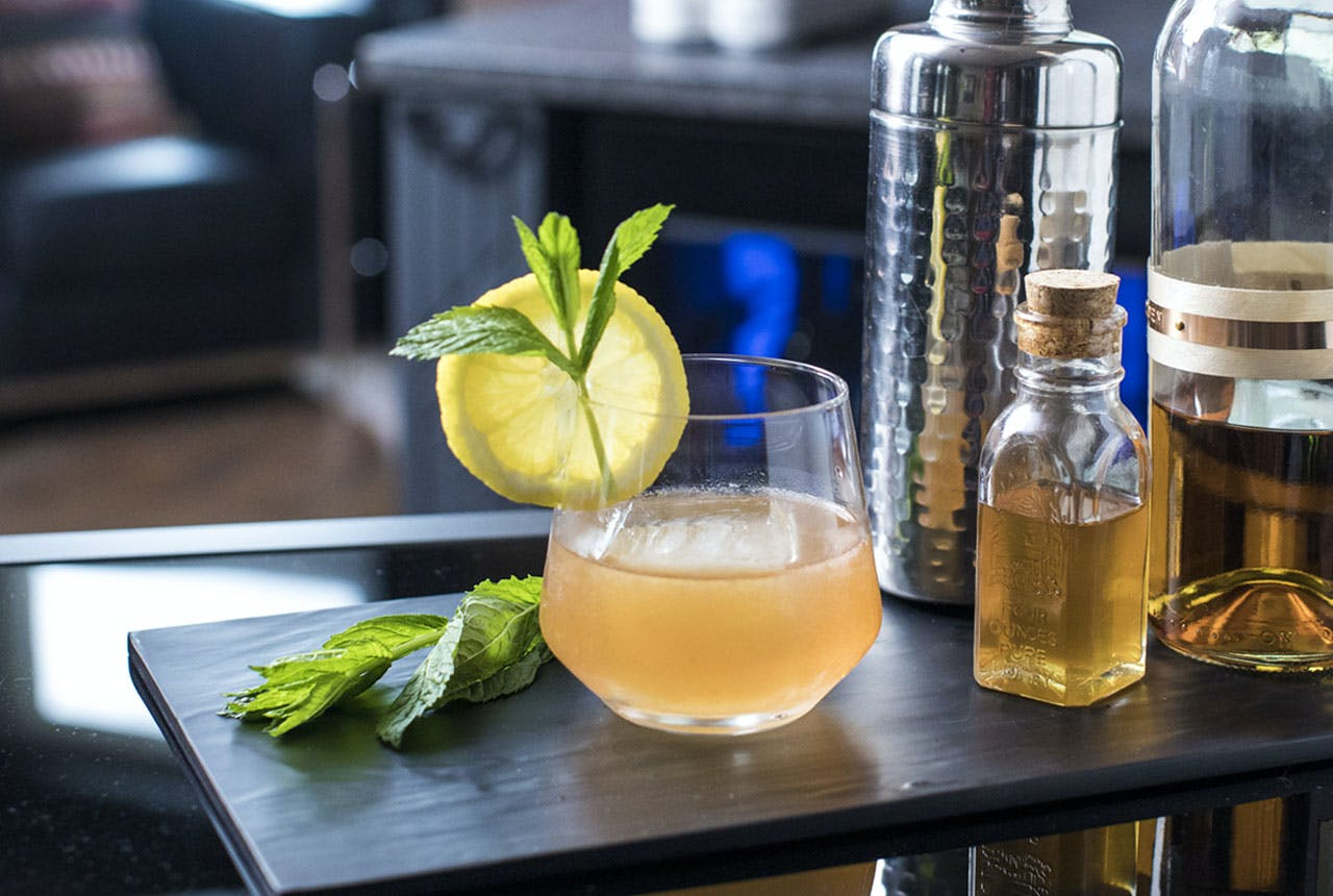 Summer Citrus Bourbon Cocktail