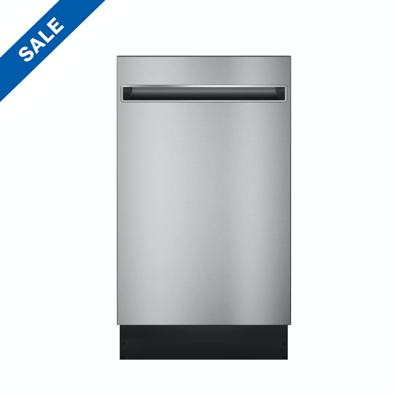 """Haier 18"""" Stainless Steel Interior Dishwasher with Sanitize Cycle Model QDT125SSLSS"""