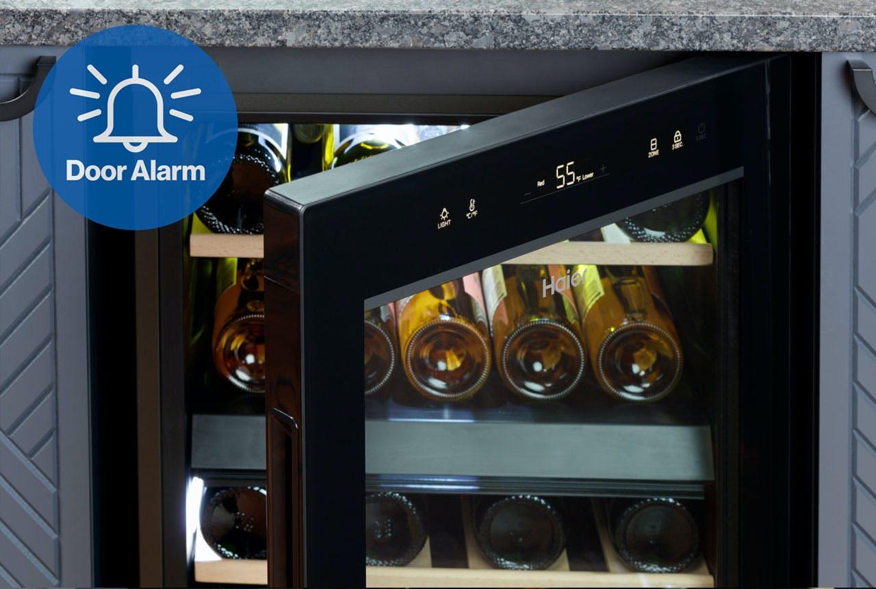 Haier Wine Fridge With Door Alarm
