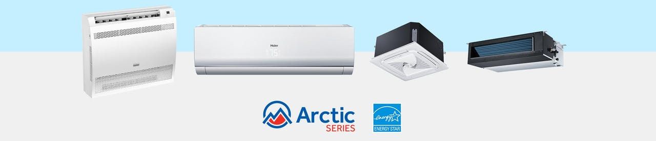 Photo of Haier Ductless Single Zone Arctic Series Products