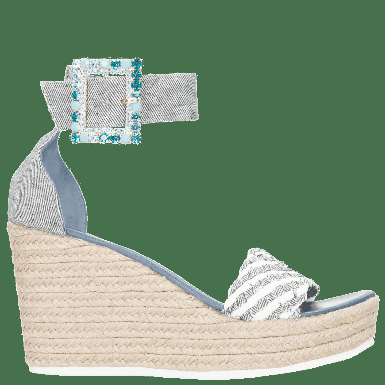 Sandalen met sleehak van Melvin & Hamilton