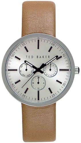 Cette montre TED BAKER se compose d'un Boîtier Rond de 42x42mm et d'un bracelet en Cuir Marron