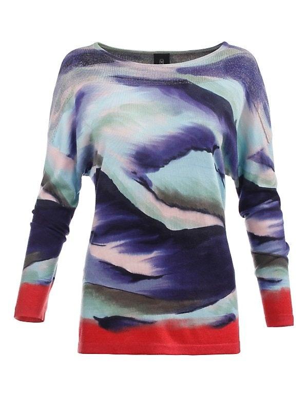 Handbemalter Pullover