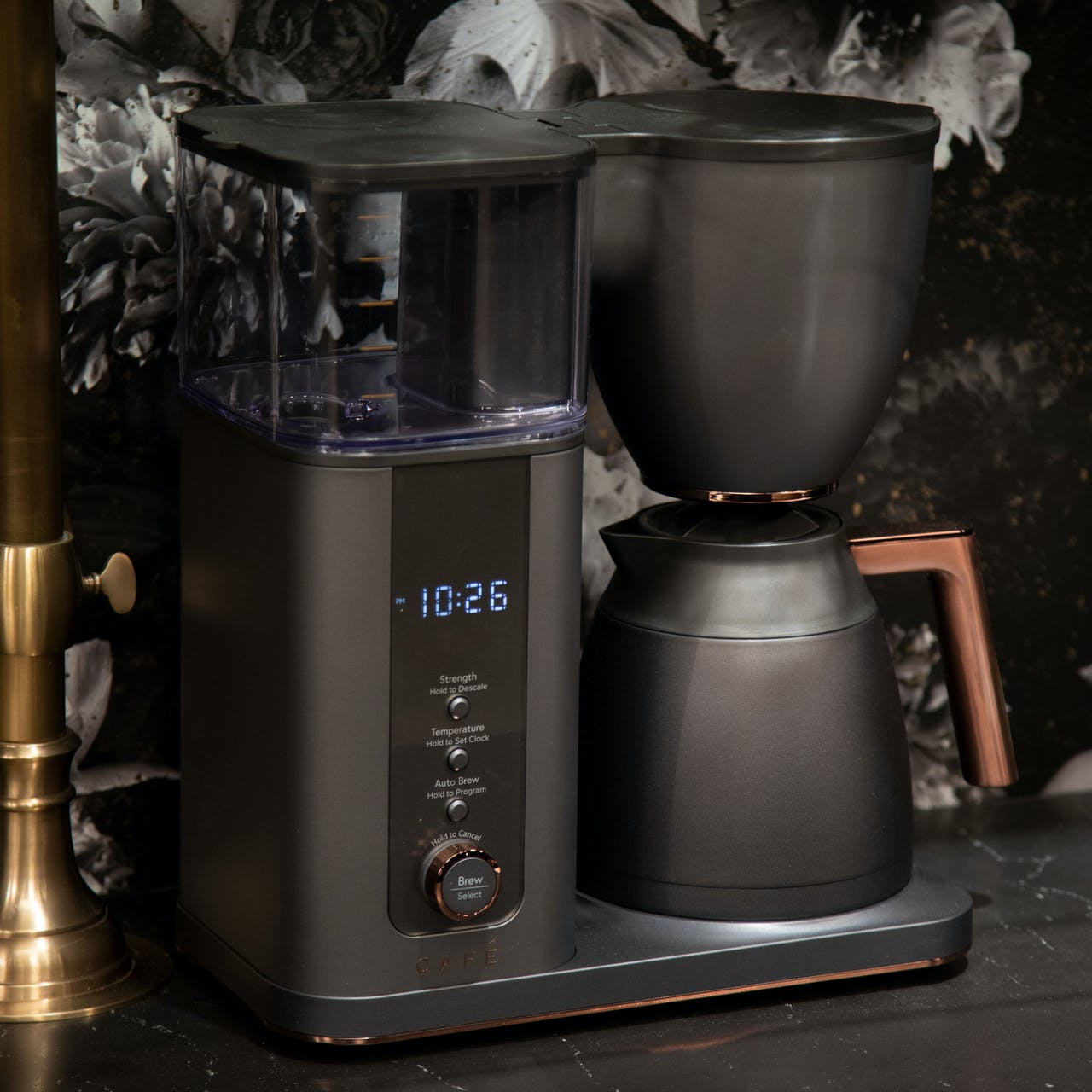 Cafe Specialty Drip Coffee Maker in Matte Black